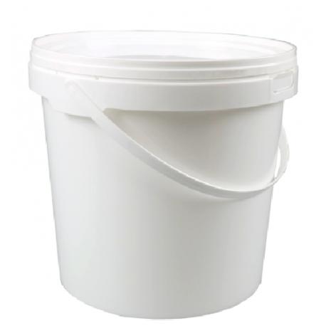 Vedro s viečkom 10L biele (1ks) (1ks)