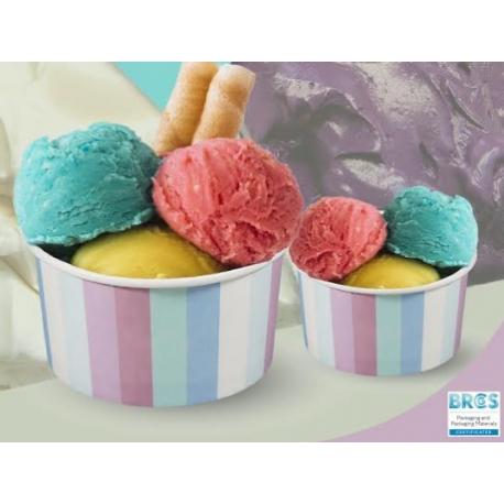 Miska na zmrzlinu 225 Pastel (30/720ks)