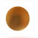 Okrúhly hrubý podnos  26cm zlatý (1ks)