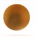 Okrúhly hrubý podnos na tortu 28cm zlatý (1/50ks)