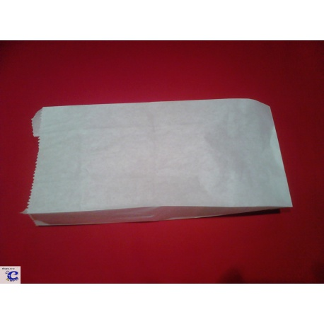 Papierové vrecko 12+5x32cm pergamen (100ks)
