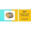 Papierové krabičky, boxy (burger,hranolky,pukance)